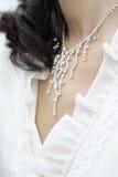 Accesorios hermosos de la novia Imagen de archivo