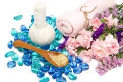 Accesorios hermosos del balneario del aroma Imagenes de archivo
