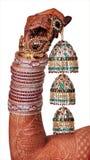 Accesorios indios de la boda Fotografía de archivo libre de regalías