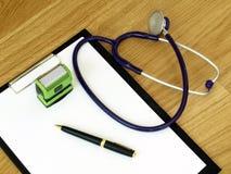 Accesorios médicos Imagen de archivo libre de regalías
