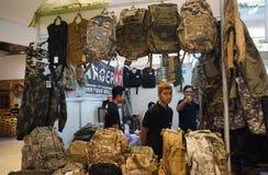 Accesorios militares Foto de archivo libre de regalías