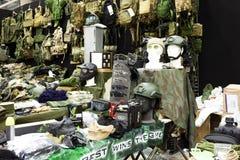 Accesorios militares modernos Fotografía de archivo libre de regalías
