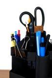 Accesorios necesarios de la oficina Imagen de archivo