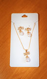 Accesorios nupciales de lujo elegantes de la boda boda Foto de archivo libre de regalías