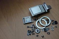 Accesorios para coser Imagen de archivo