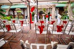 Accesorios para el registro de boda Imagen de archivo