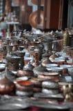 Accesorios para hacer el café turco Foto de archivo libre de regalías