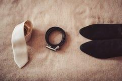 Accesorios para hombre Fotografía de archivo libre de regalías