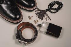 Accesorios para hombre de la moda Imagen de archivo
