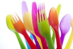 Accesorios para la cena al aire libre Fotografía de archivo