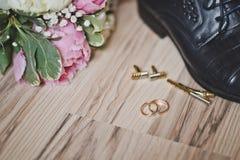 Accesorios para la ceremonia de boda 7430 Imagenes de archivo
