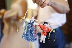 Accesorios para la ceremonia de boda Imagen de archivo libre de regalías