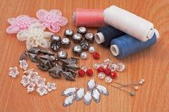 Accesorios para la decoración Foto de archivo libre de regalías