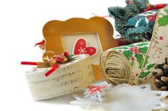 Accesorios para la decoración Fotografía de archivo libre de regalías