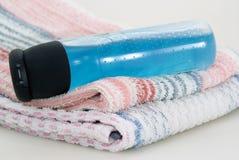 Accesorios para la ducha Imagen de archivo libre de regalías