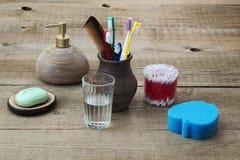accesorios para la higiene personal Fotos de archivo libres de regalías