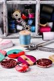 Accesorios para la joyería de los artes Foto de archivo libre de regalías