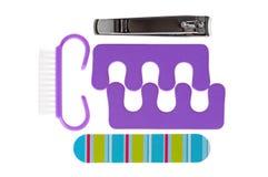 Accesorios para la manicura Fotos de archivo libres de regalías