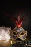 Accesorios para la mascarada Foto de archivo libre de regalías