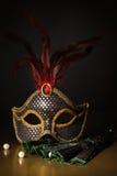 Accesorios para la mascarada Fotos de archivo