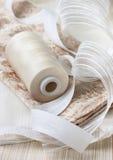 Accesorios para las cortinas de costura Fotografía de archivo libre de regalías