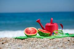Accesorios para las vacaciones de verano Fotografía de archivo libre de regalías