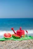 Accesorios para las vacaciones de verano Imagen de archivo libre de regalías