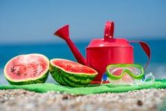 Accesorios para las vacaciones de verano Imagen de archivo