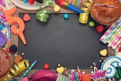 Accesorios para los partidos de los niños Fotografía de archivo