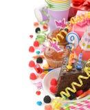 Accesorios para los partidos de los niños Imagen de archivo libre de regalías