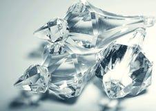 accesorios, pequeños cristales transparentes Foto de archivo libre de regalías