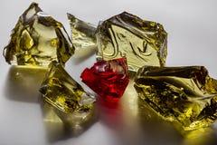 accesorios, pequeños cristales transparentes Fotos de archivo