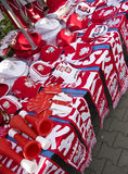 Accesorios polacos del ventilador Foto de archivo libre de regalías