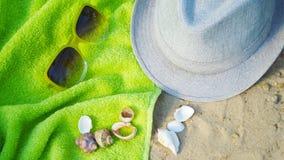 Accesorios por días de fiesta de la playa Imagenes de archivo