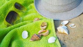 Accesorios por días de fiesta de la playa Imagen de archivo