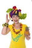 Accesorios vegetarianos Imagen de archivo libre de regalías