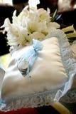 Accesorios y apoyos de la boda Imagen de archivo