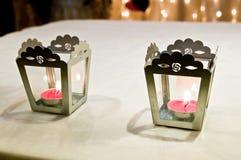 Accesorios y apoyos de la boda Foto de archivo libre de regalías