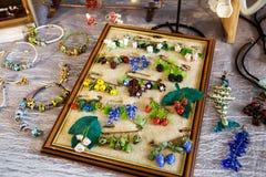 Accesorios y decoraciones para la novia Fotos de archivo libres de regalías
