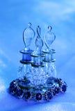 Accesorios y vidrio de la joyería Imagen de archivo