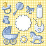 Accesory baby Royalty-vrije Stock Foto's
