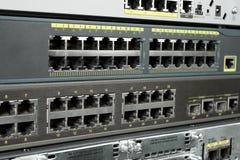 Accesos de Ethernet imágenes de archivo libres de regalías