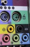 Accesos del ordenador Imagen de archivo libre de regalías