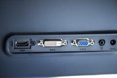 Accesos video - DVI-D Foto de archivo