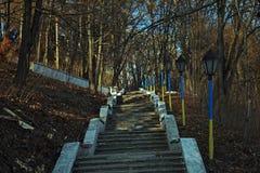 Access al fiume Fotografia Stock