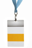 Access all area. Backstage pass - isolated on a white backgorund stock photo