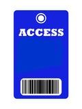 Access all areas pass Stock Photo