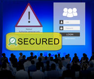 Access Allowed Entrust Password Secured Concept Stock Photos