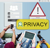 Access Allowed Entrust Password Secured Concept Royalty Free Stock Image