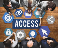 Access Available Usable Accessibility Concept Stock Image